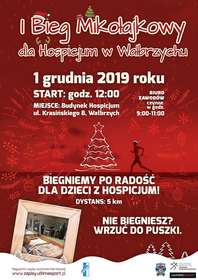 Wałbrzych/powiat wałbrzyski: Pobiegną dla Hospicjum