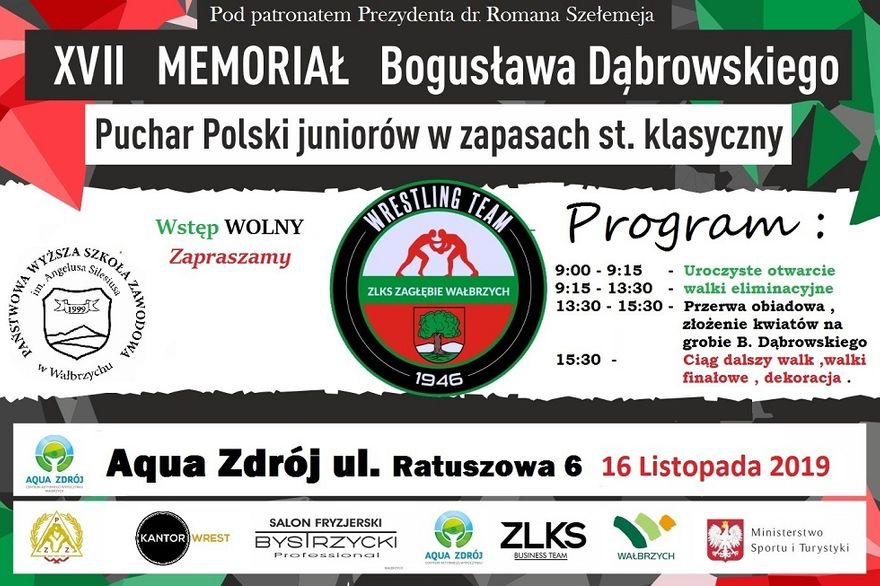 Wałbrzych: Memoriał Dąbrowskiego