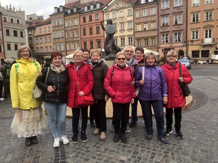 REGION, Szczawno-Zdrój: Seniorzy w stolicy