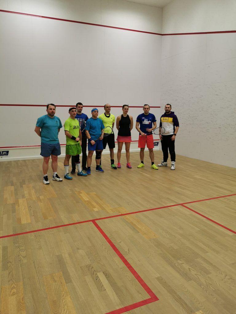 Wałbrzych: Grali w squasha