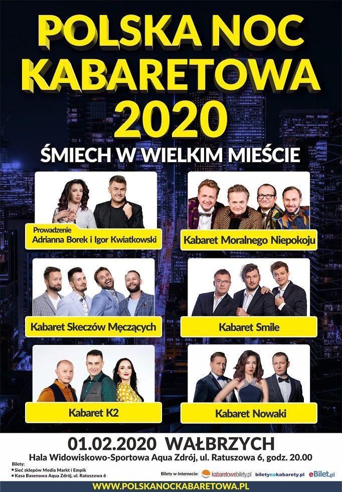 Wałbrzych: Polska Noc Kabaretowa 2020