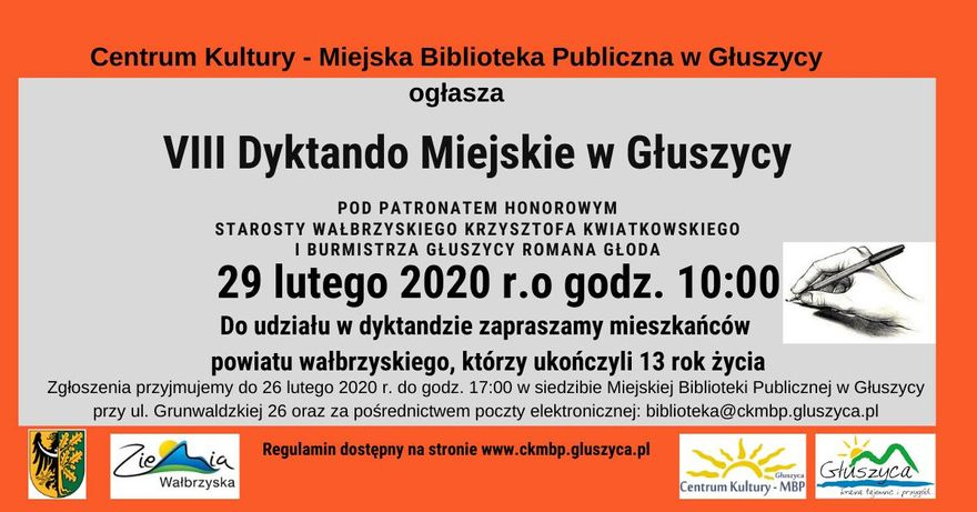 REGION, Głuszyca: Sprawdzian z ortografii
