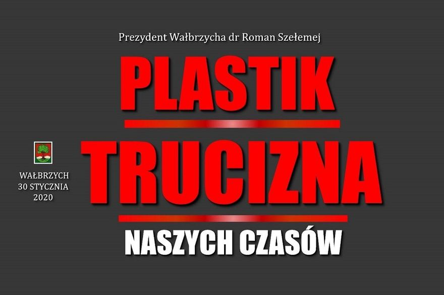 Wałbrzych: Plastik znika z przestrzeni publicznej