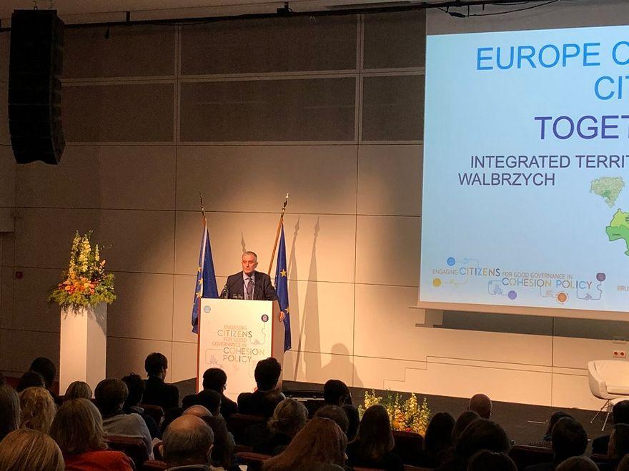 Wałbrzych: Echa wizyty w Brukseli