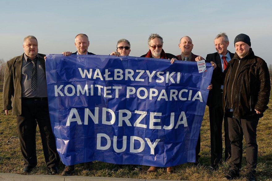 Wałbrzych/powiat wałbrzyski: Popierają Andrzeja Dudę