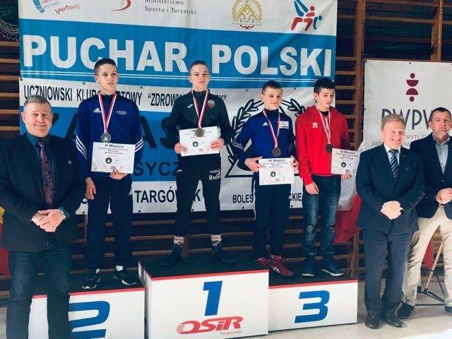 Wałbrzych: Medale zapaśników