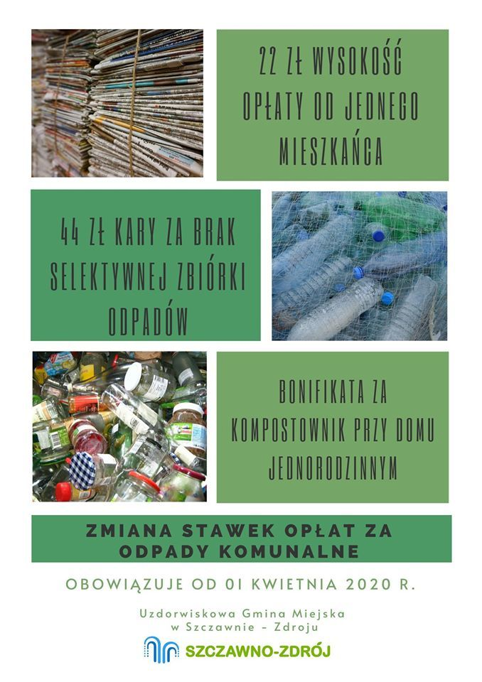 REGION, Szczawno-Zdrój: Nowe stawki za odpady