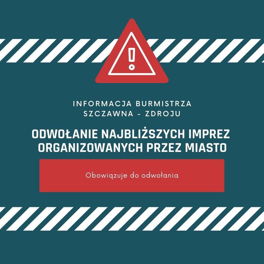 REGION, Szczawno-Zdrój: Apelują o rozwagę