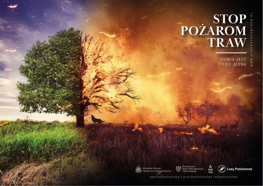 Wałbrzych/REGION: Stop pożarom traw!