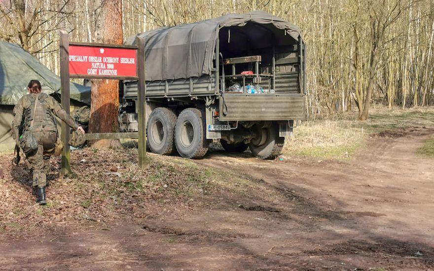 REGION, Golińsk/Nowe Siodło: Wojsko na granicy