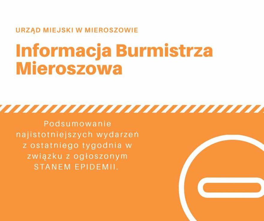 REGION, Gmina Mieroszów: Tygodniowe podsumowanie