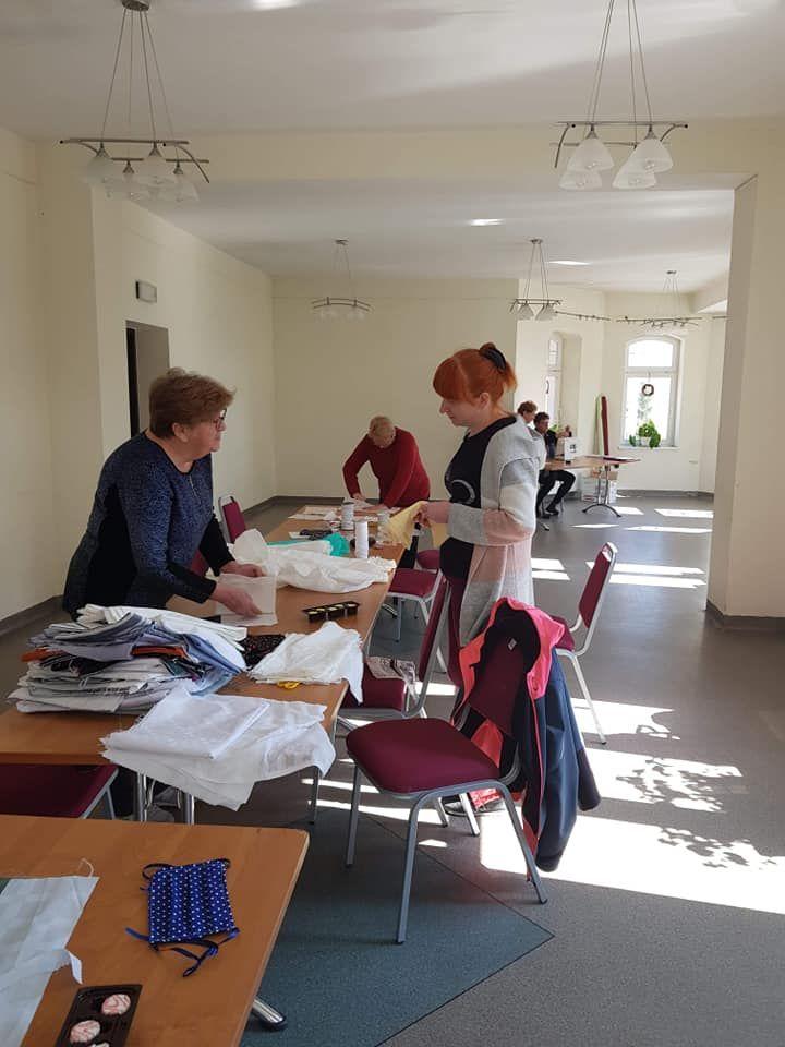 REGION, Mieroszów: Szyją dla mieszkańców