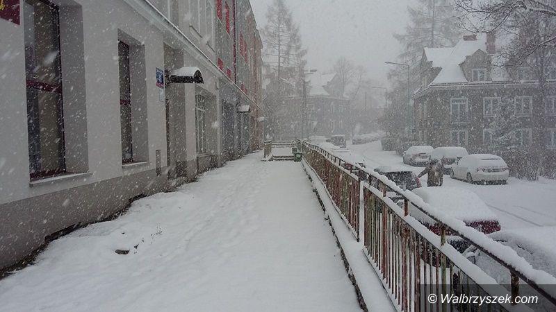 Wałbrzych/powiat wałbrzyski: Zima powróciła