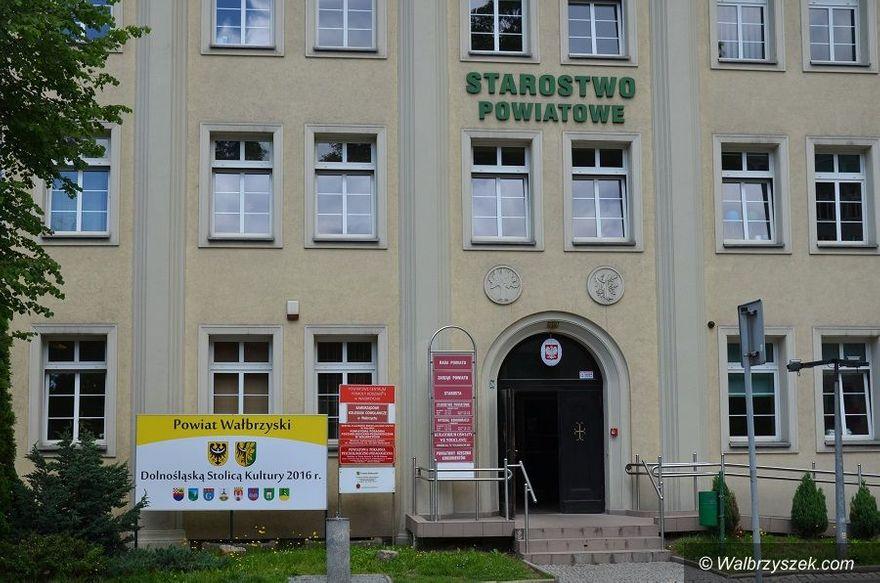 Wałbrzych/powiat wałbrzyski: Wsparcie od powiatu