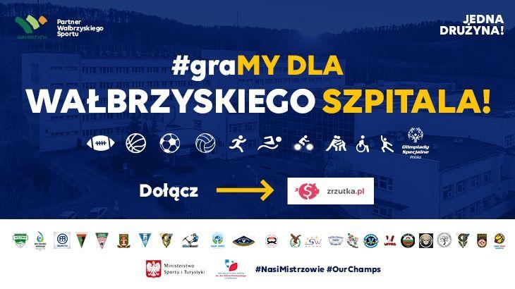 Wałbrzych/REGION: Sportowcy dla szpitala