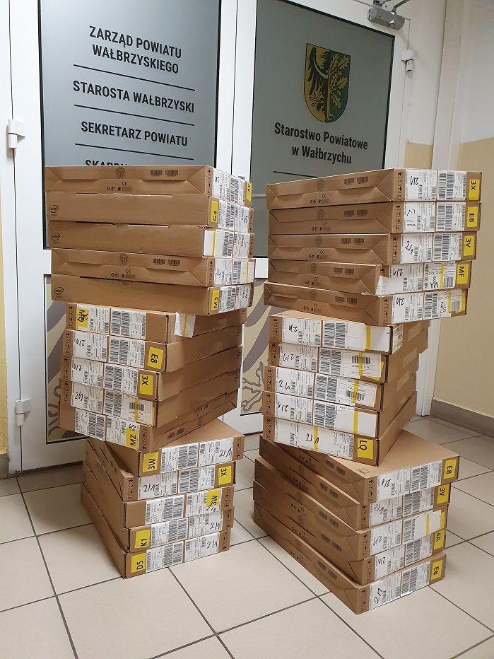 powiat wałbrzyski: Kupili laptopy dla ZS