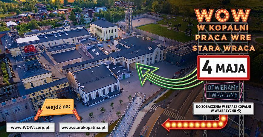 Wałbrzych: Stara Kopalnia otwarta