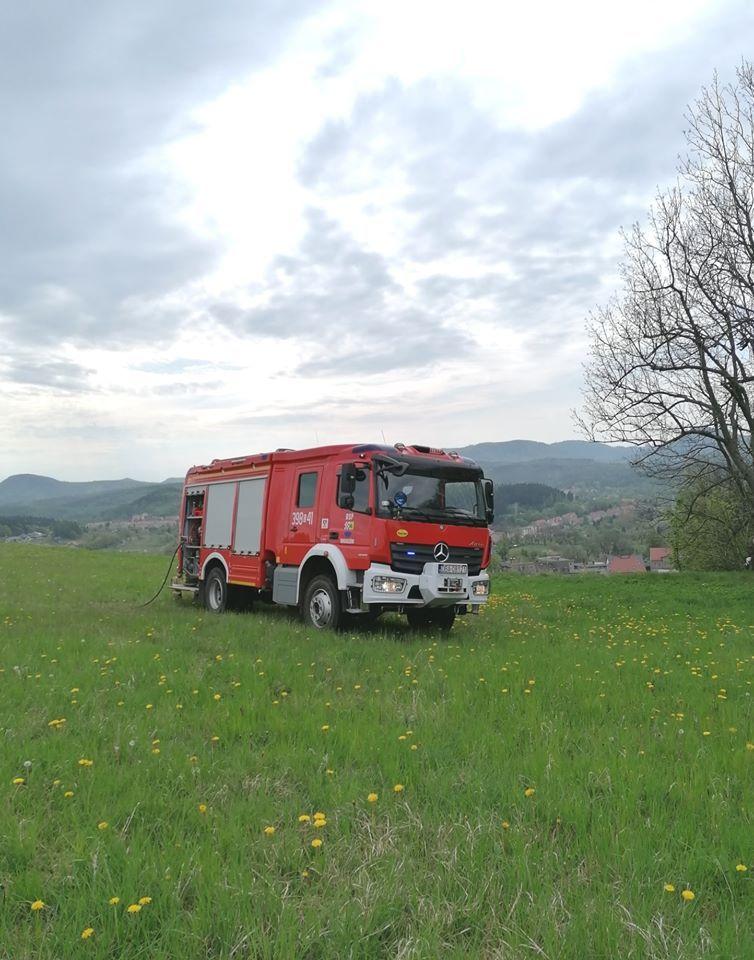 REGION, Boguszów-Gorce: Spadł z muru