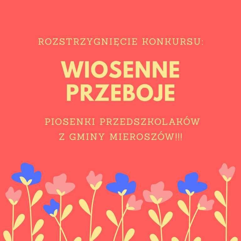 REGION, Mieroszów: Wiosenne przeboje