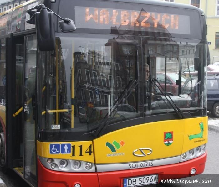 Wałbrzych/powiat wałbrzyski: Więcej ludzi w autobusach