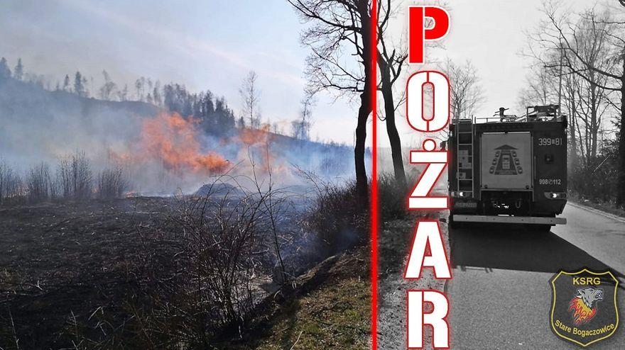 REGION, Stare Bogaczowice: Interwencje strażaków