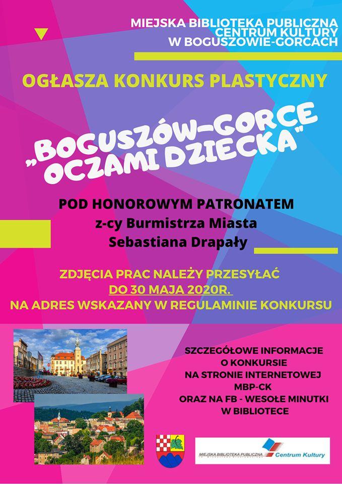 REGION, Boguszów-Gorce: Plastyczny konkurs