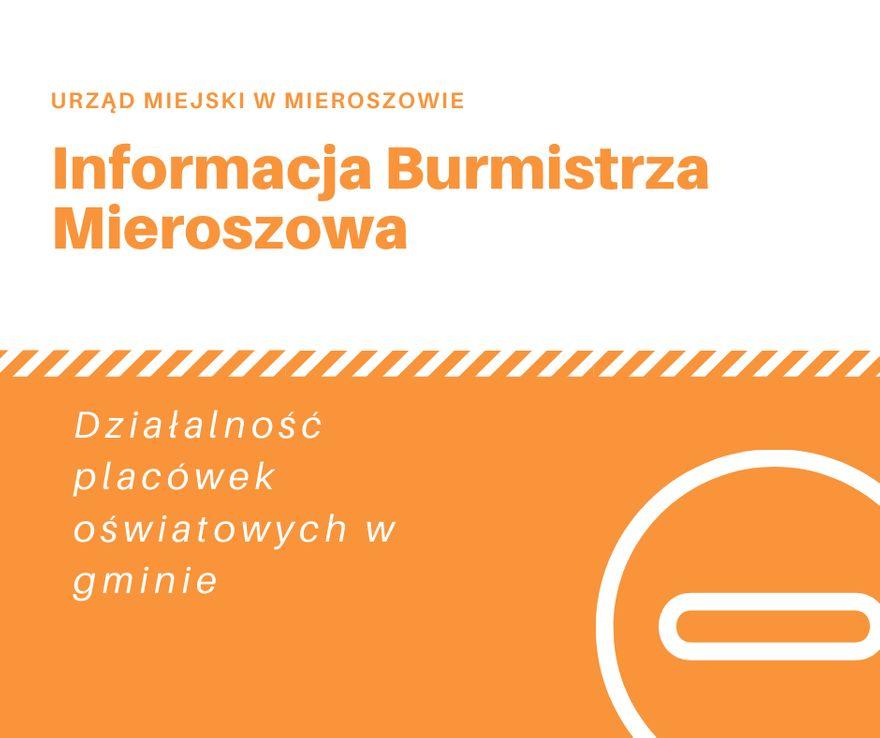 REGION, Mieroszów: Oświatowe decyzje