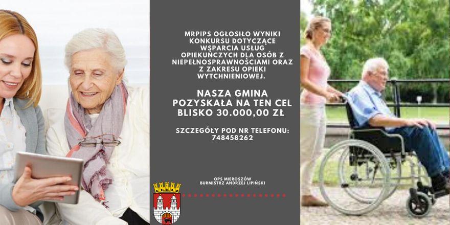 REGION, Mieroszów: Opieka nad niepełnosprawnymi
