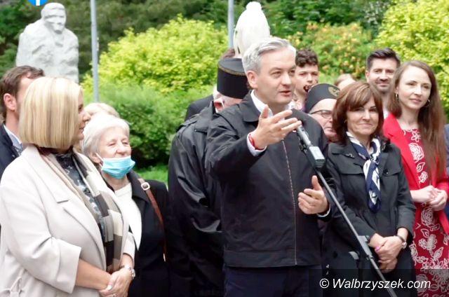 Wałbrzych: Biedroń w Wałbrzychu