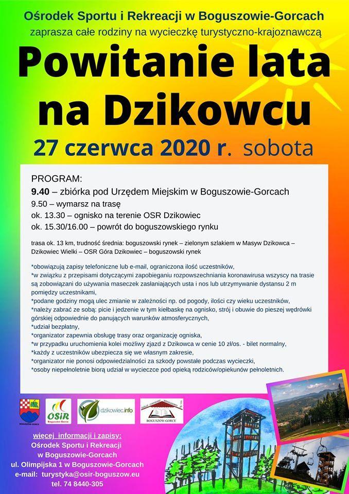 REGION, Boguszów-Gorce: Powitanie lata