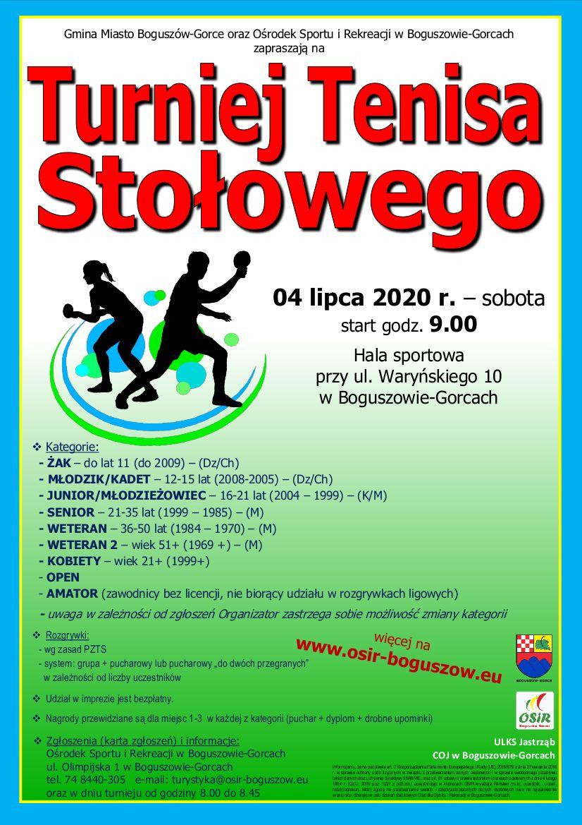 Boguszów-Gorce: Turniej tenisa
