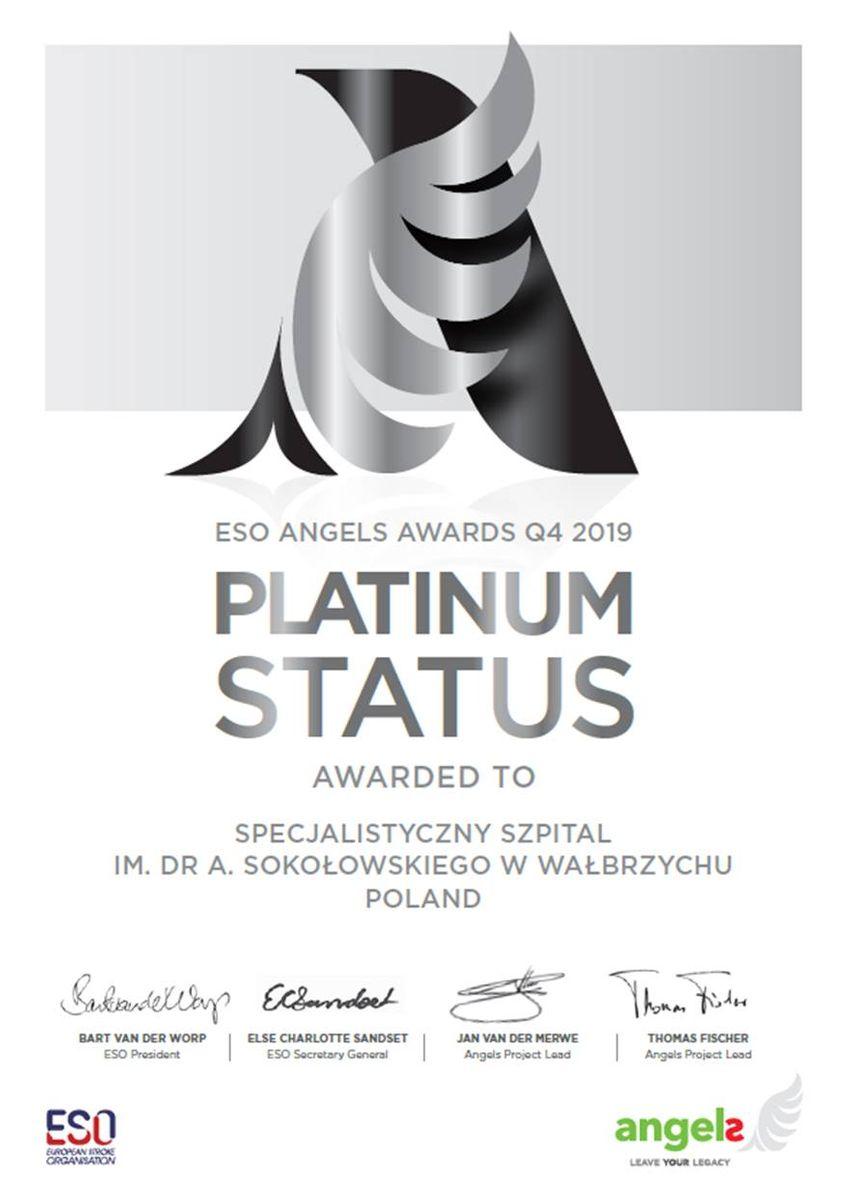 Wałbrzych: Diamentowy certyfikat