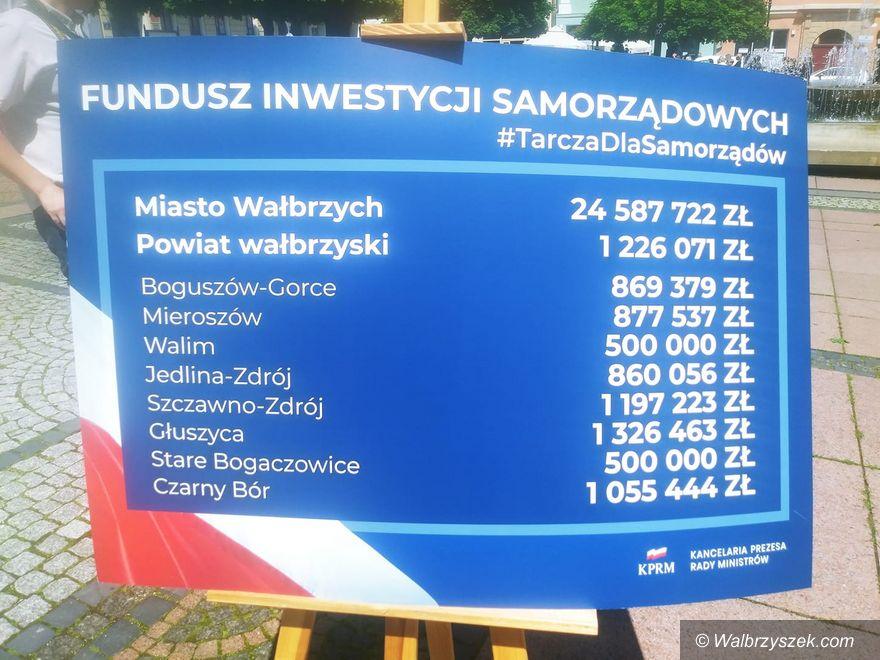 Wałbrzych: 24 miliony dla Wałbrzycha