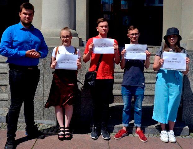 Wałbrzych: Protestowali aktywiści