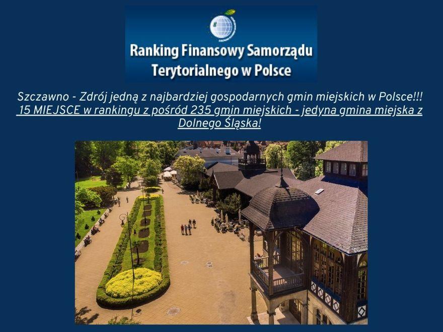 REGION, Szczawno-Zdrój: Szczawno wyróżnione