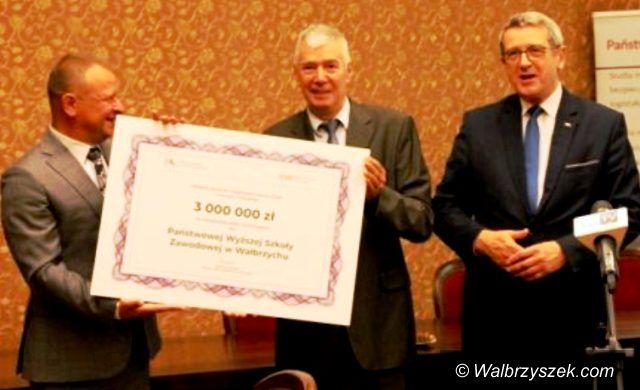 Wałbrzych: Pieniądze dla uczelni