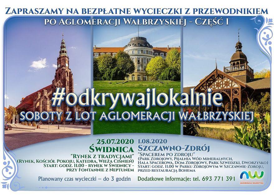 REGION, Szczawno-Zdrój: Spacer po uzdrowisku