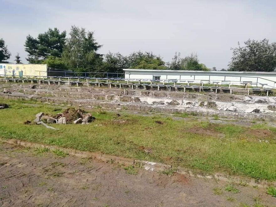 REGION, Mieroszów: Remontują trybuny