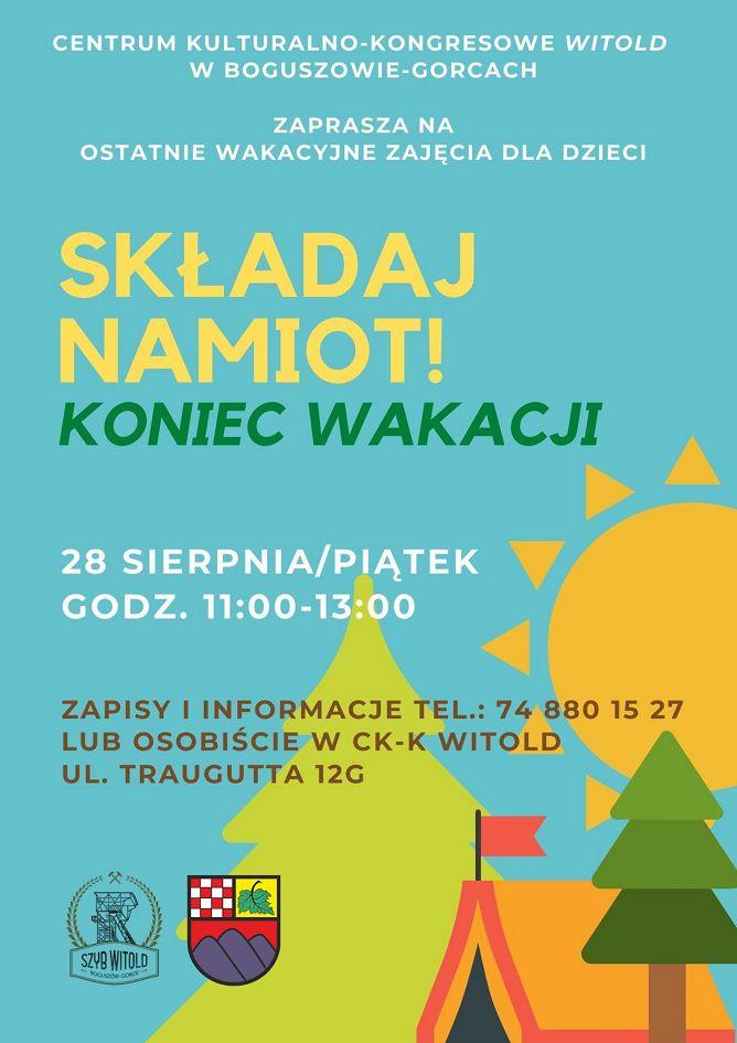 REGION, Boguszów-Gorce: Zakończenie wakacji w