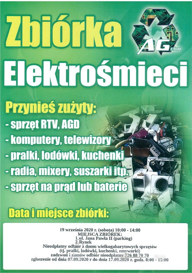 Wałbrzych: Oddaj elektrośmieci