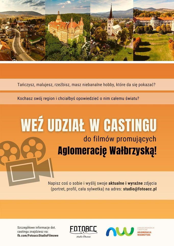 Wałbrzych/REGION: Szukają aktorów