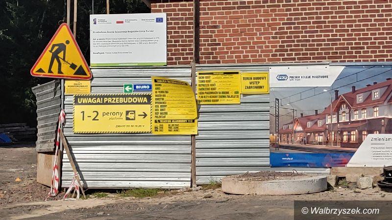 REGION, Boguszów-Gorce: Remontują dworzec