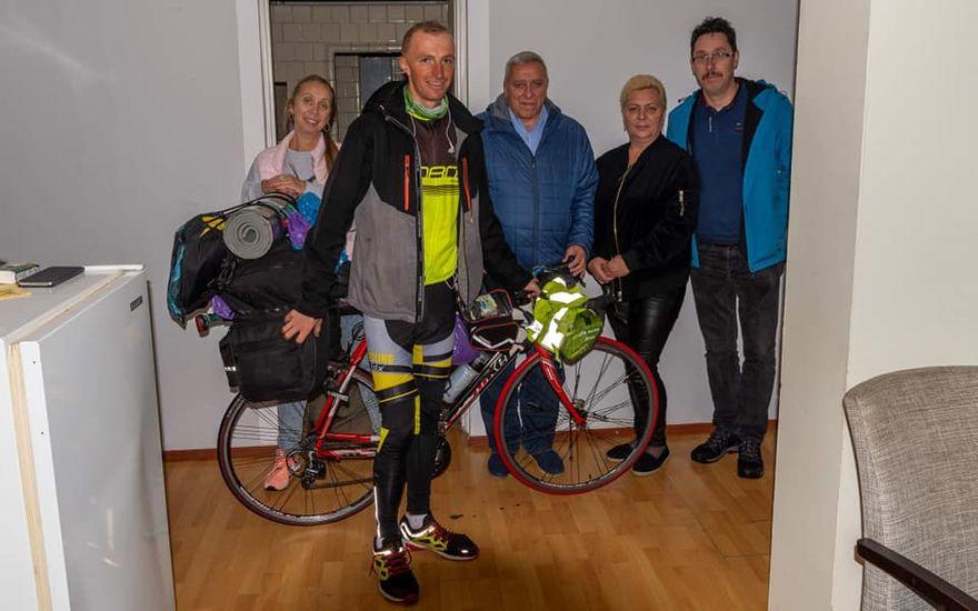 REGION, Mieroszów: Wyjątkowy rowerzysta