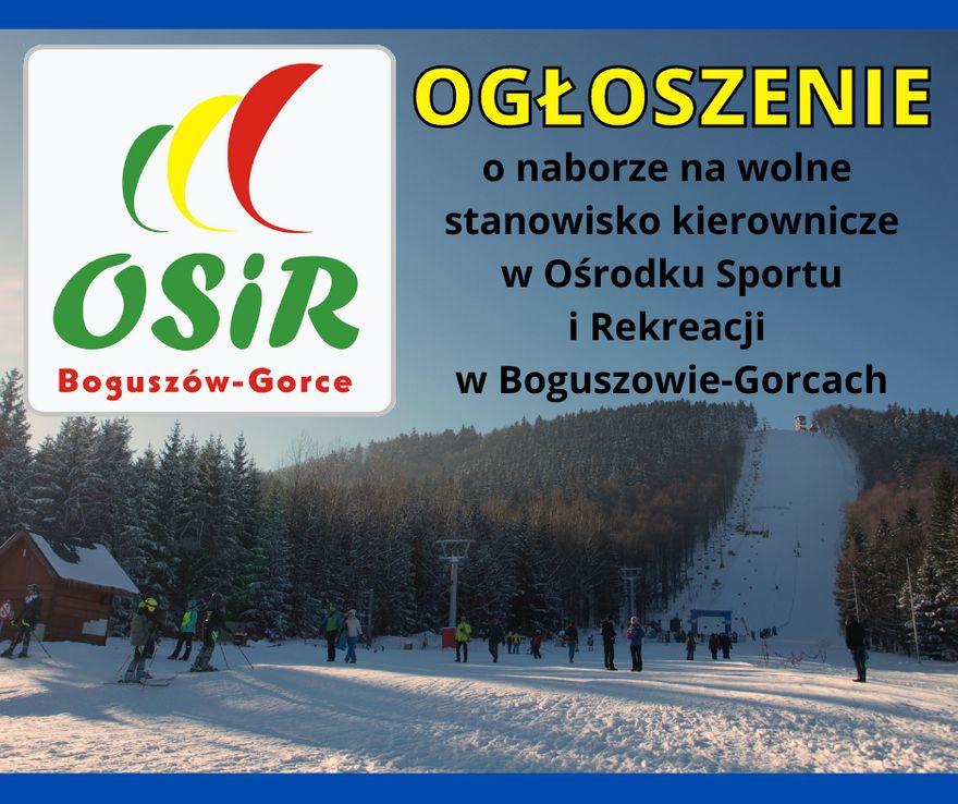 REGION, Boguszów-Gorce: OSiR też szuka