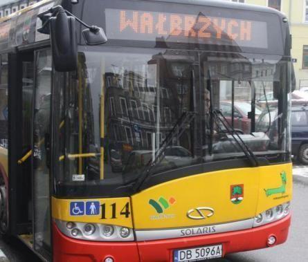 Wałbrzych/powiat wałbrzyski: Limity w autobusach