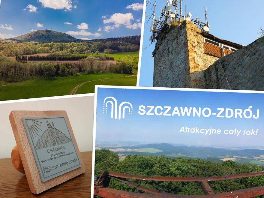 REGION, Szczawno-Zdrój: Konserwacja na wieży