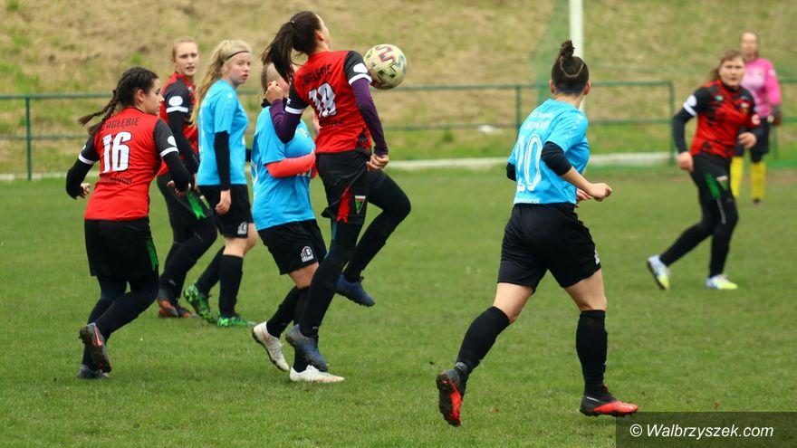 Wałbrzych: Porażka futbolistek