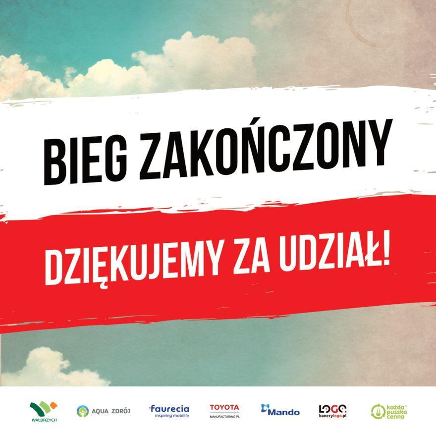 Wałbrzych/REGION: Bieg Niepodległości rozstrzygnięty