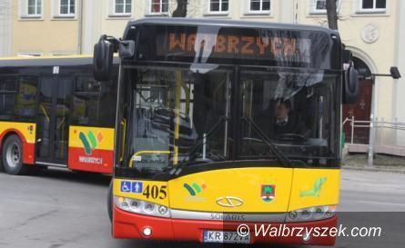 Wałbrzych: Autobusy w czasie świąt