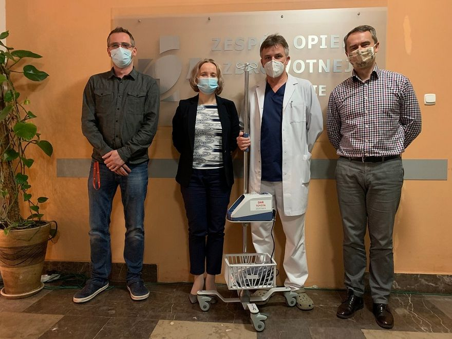 Wałbrzych/REGION: Toyota wspiera szpitale